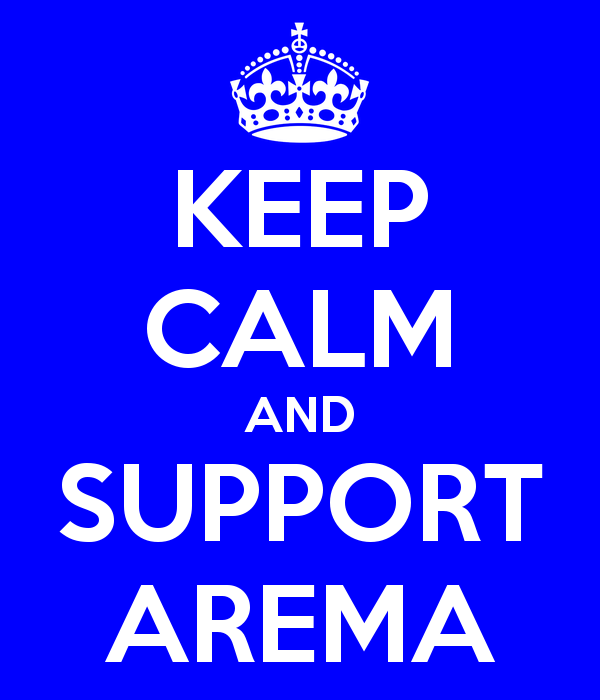 Keep Calm For Arema