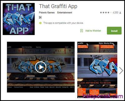 Aplikasi That Graffiti App