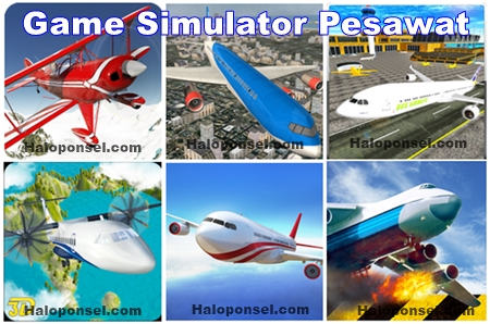 game simulator pesawat