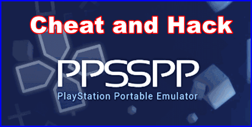 cara cheat hack ppsspp android