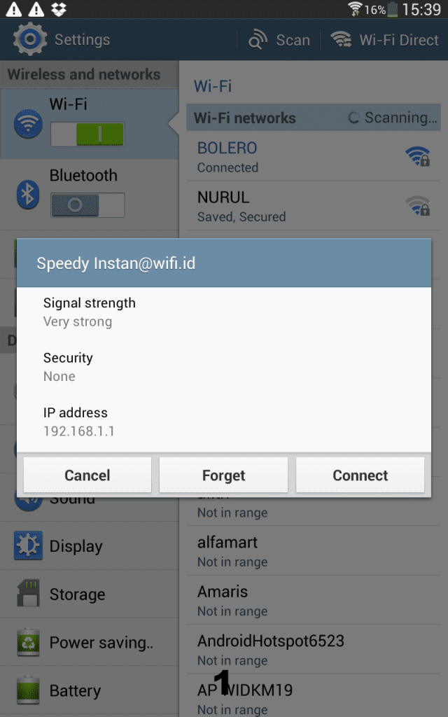 Cara membobol password wifi dengan android