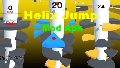 download helix jump mod apk